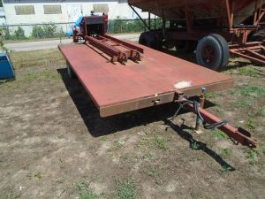 Trailer Mtd Gas Bale Chopper