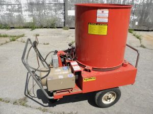 Agri Metal 6 hp Electric Bale Chopper