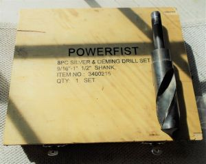 Powerfist Deming Drill Set - 8 pc.