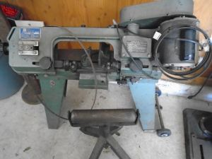 Horizontal Vertical Metal Band Saw & Roller