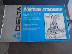 Delta Mortising Attachment
