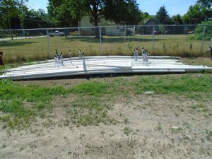 Irrigation Pipe & Sprinklers