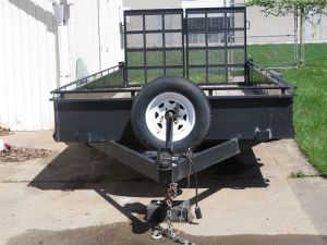 2015 Can Am 18 ft Trailer
