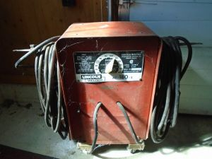 Lincoln Welder AC 180-5 w/50 ft Cables