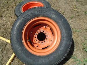 2 - Kubota Tires & Rims